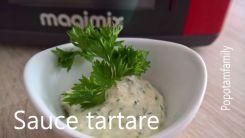 sauce tartare au magimix