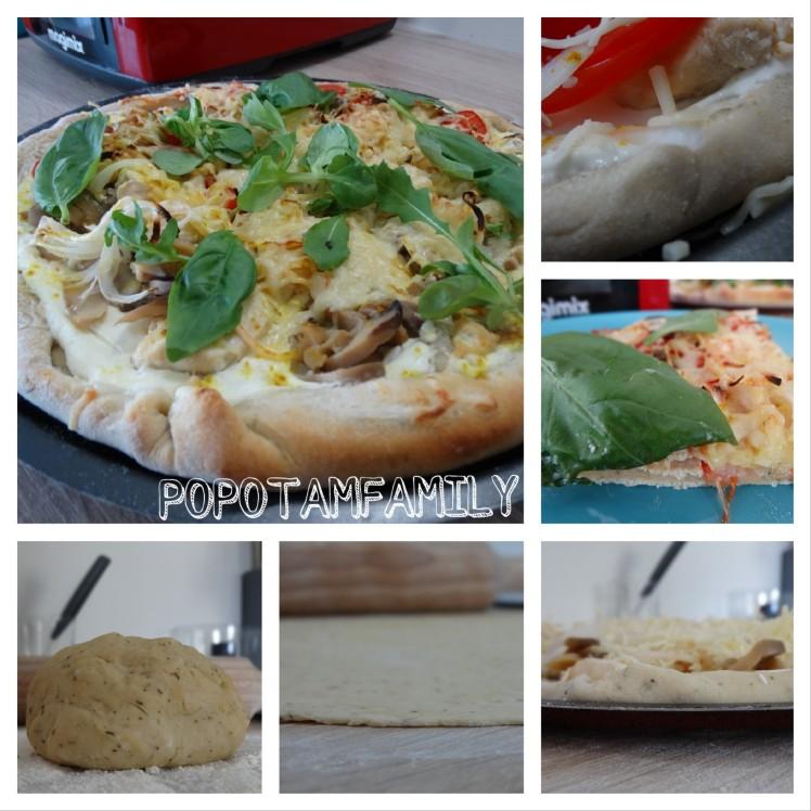Pizza au magimix