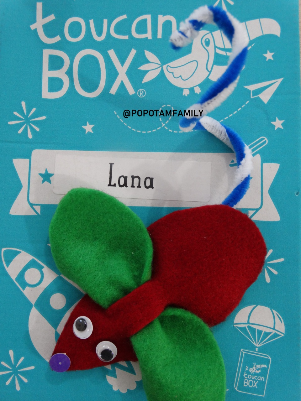 TOUCAN BOX - @POPOTAMFAMILY