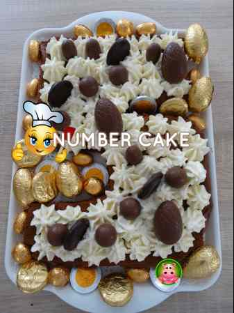 number cake 21